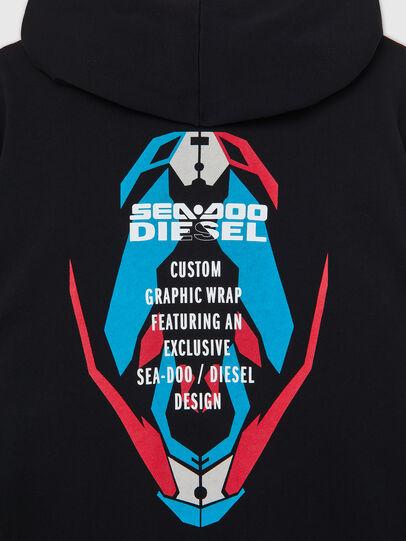 Diesel - BMOWT-FINLEYDOO, Black/Blue - Out of water - Image 4