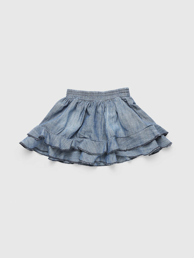 Diesel - GIRAB, Blue Jeans - Skirts - Image 2