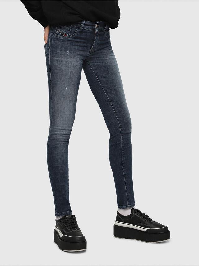 Diesel - Livier 0687L, Dark Blue - Jeans - Image 1