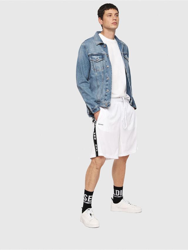 Diesel - P-HITOSHI, White/Black - Shorts - Image 4