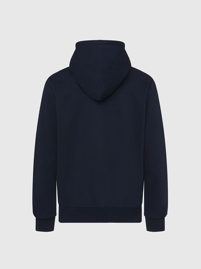 Diesel - S-GIRK-HOOD-K20, Dark Blue - Sweaters - Image 2