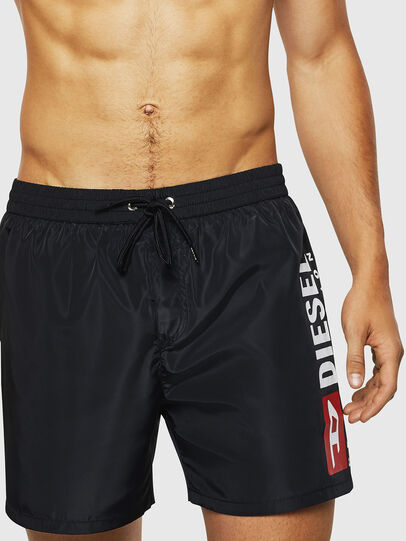 Diesel - BMBX-WAVE 2.017, Black - Swim shorts - Image 3