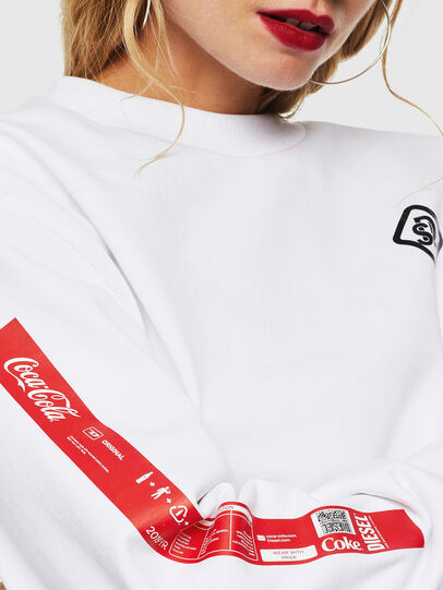 Diesel - CC-S-BAY-COLA, White - Sweaters - Image 5