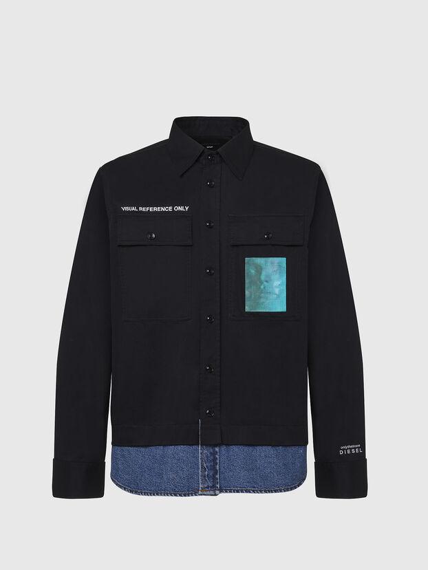 S-DUSTIN, Black - Shirts