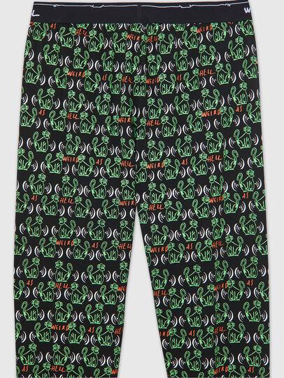 Diesel - UMLB-JULIO, Black/Green - Pants - Image 4
