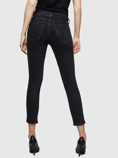 Diesel - Babhila 0093G, Black/Dark grey - Jeans - Image 2
