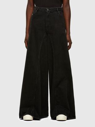 D-Spritzz 009RN, Black/Dark grey - Jeans