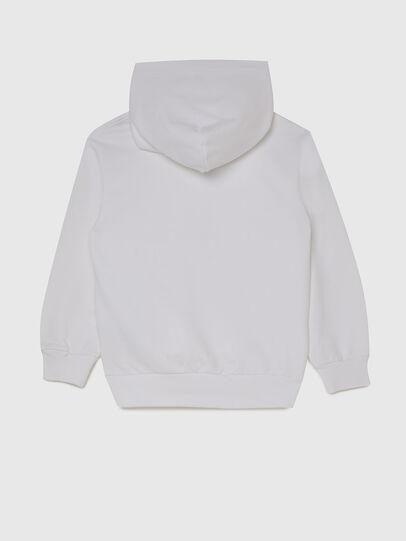 Diesel - SGIRKHOODX5 OVER, White - Sweaters - Image 2