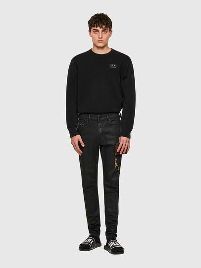Diesel - D-Amny 009ID, Black/Dark grey - Jeans - Image 5