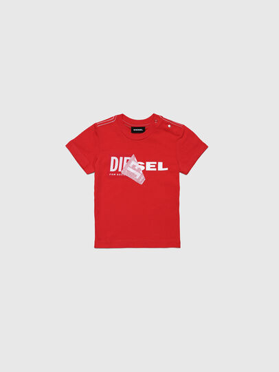 Diesel - TOQUEB MC, Red - T-shirts and Tops - Image 1