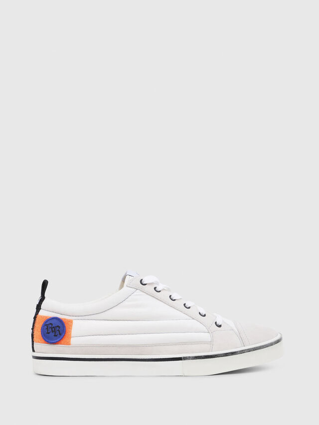 Diesel - D-VELOWS LOW PATCH, White - Sneakers - Image 1