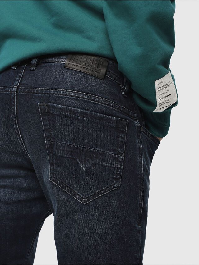 Diesel - Thommer 087AS, Dark Blue - Jeans - Image 3