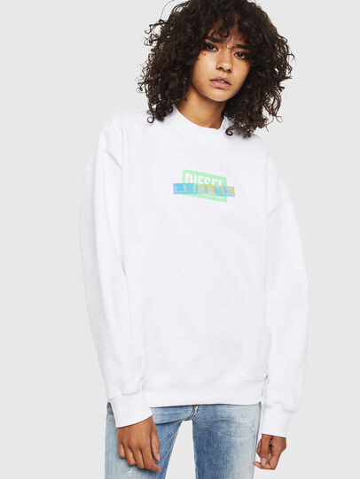 Diesel - F-ANG-S1, White - Sweaters - Image 1