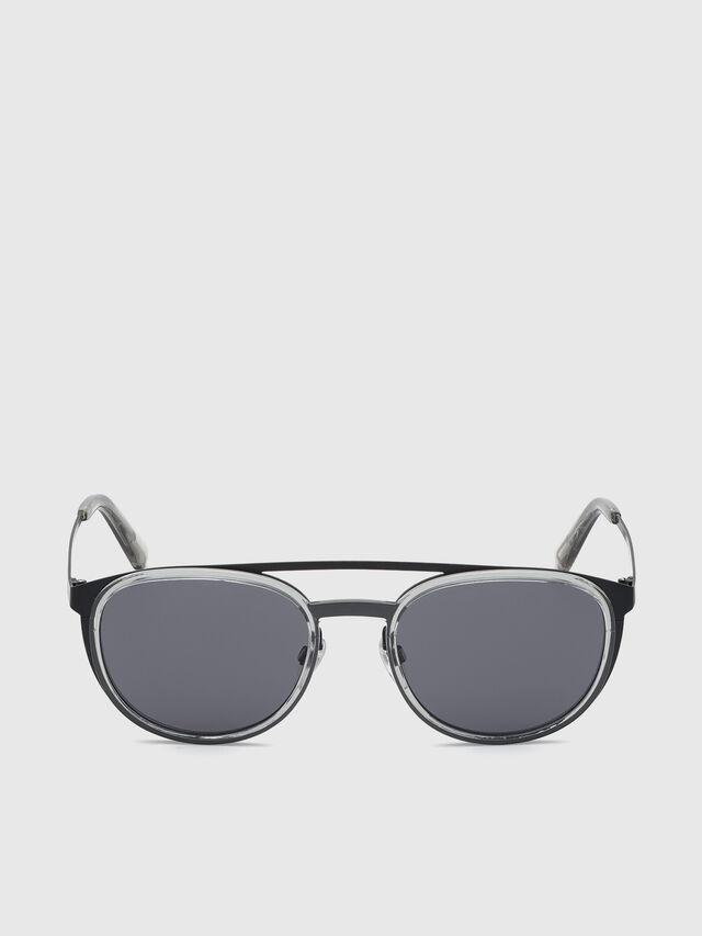 Diesel - DL0293, Black/Grey - Sunglasses - Image 1
