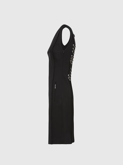 Diesel - D-PHILO, Black - Dresses - Image 3