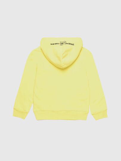 Diesel - SGIMHOODA, Light Yellow - Sweaters - Image 2