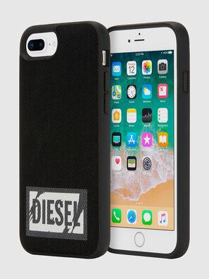 BLACK DENIM IPHONE 8 PLUS/7 PLUS/6S PLUS/6 PLUS CASE,  - Cases