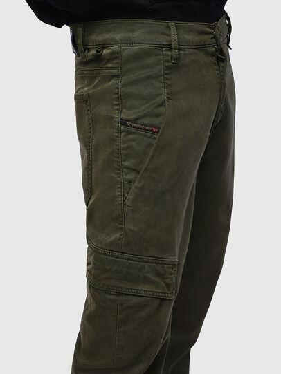 Diesel - D-Krett JoggJeans 069LX, Military Green - Jeans - Image 5