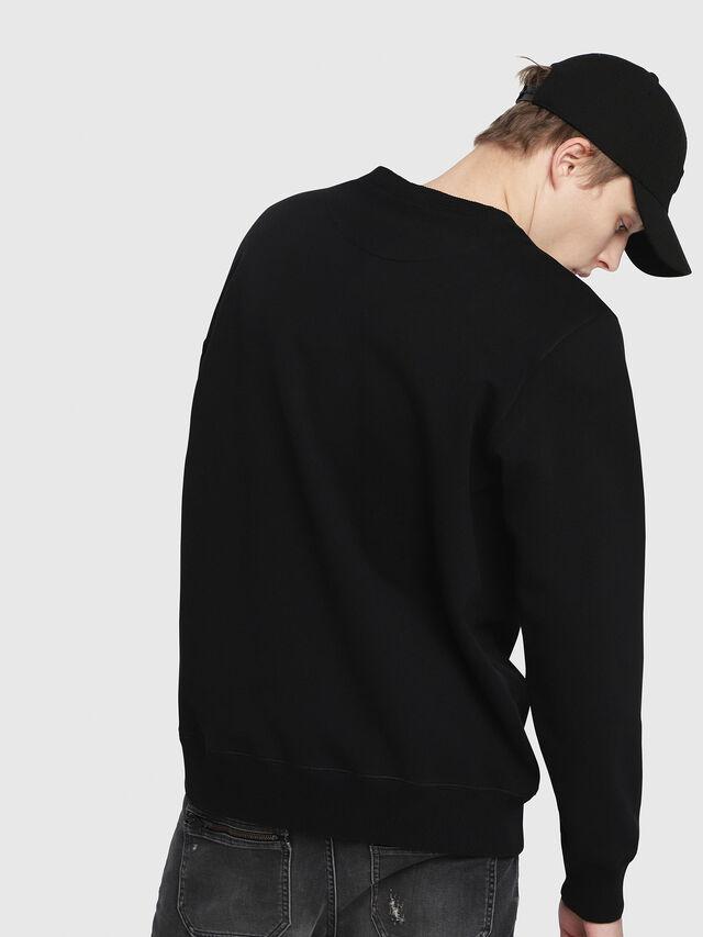 Diesel - S-GIR-DIE, Black - Sweaters - Image 2