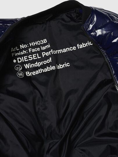 Diesel - W-ON, Blue - Winter Jackets - Image 8