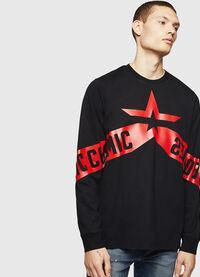 T-JUST-LS-STAR, Black