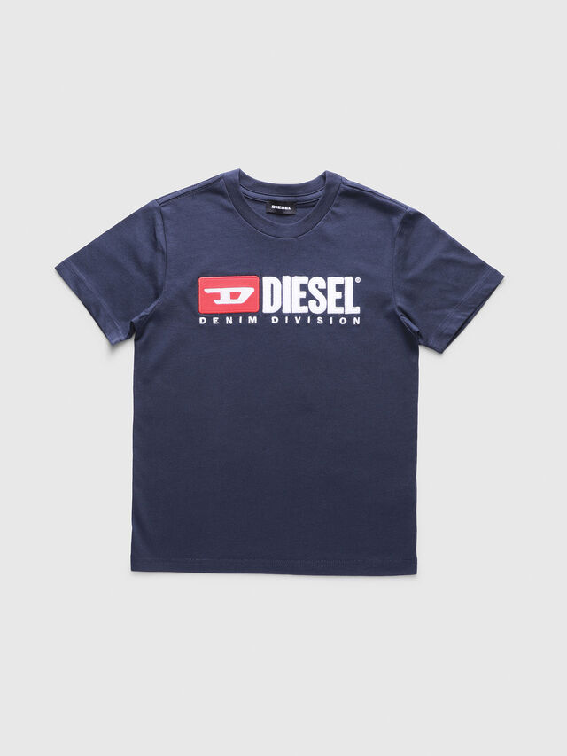 Diesel - TJUSTDIVISION, Dark Blue - T-shirts and Tops - Image 1