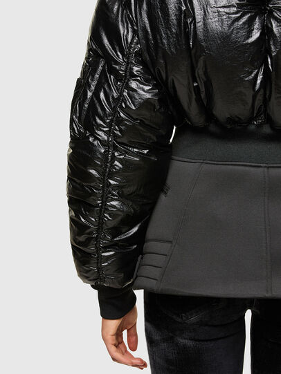 Diesel - W-ISOKE-SHINY, Black - Winter Jackets - Image 5