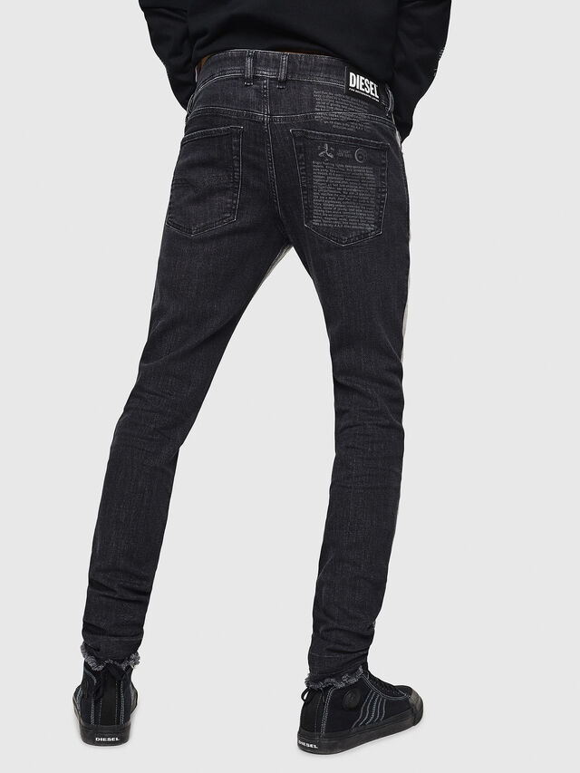 Diesel - Sleenker 082AX, Black/Dark grey - Jeans - Image 2