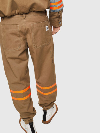 Diesel - P-CARUSO, Light Brown - Pants - Image 2