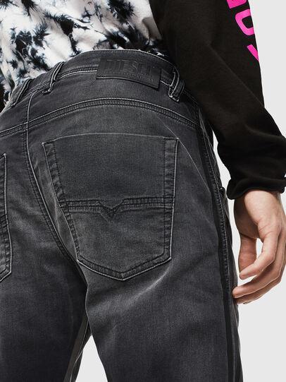 Diesel - Krooley JoggJeans 0094Q, Black/Dark grey - Jeans - Image 4