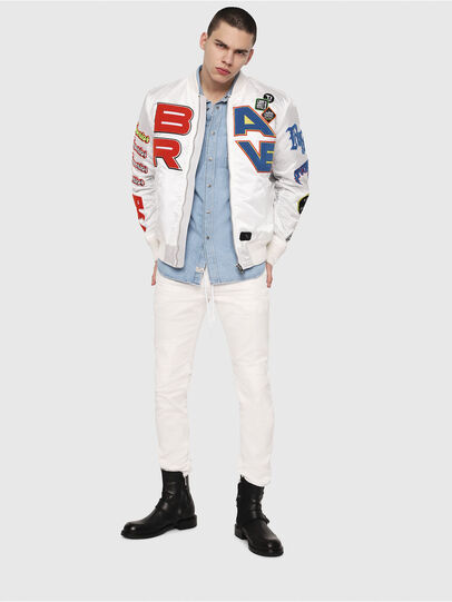 Diesel - Thommer JoggJeans 069DS, White - Jeans - Image 4