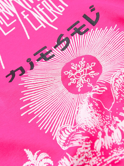 Diesel - TSILYWC, Pink - T-shirts and Tops - Image 3