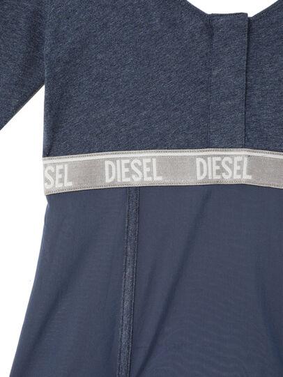 Diesel - UFTEE-TOPCUT-DN, Blue - T-Shirts - Image 3