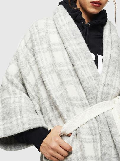 Diesel - M-BOU, Grey/White - Winter Jackets - Image 5