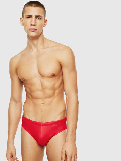Diesel - BMBR-JACK, Red - Swim briefs - Image 1