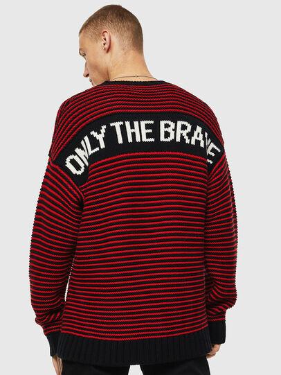 Diesel - K-BALLIS, Red/Black - Knitwear - Image 3