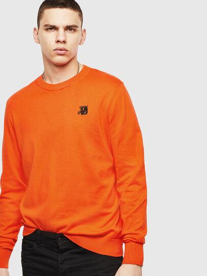 Diesel - K-FREEX, Orange - Knitwear - Image 4