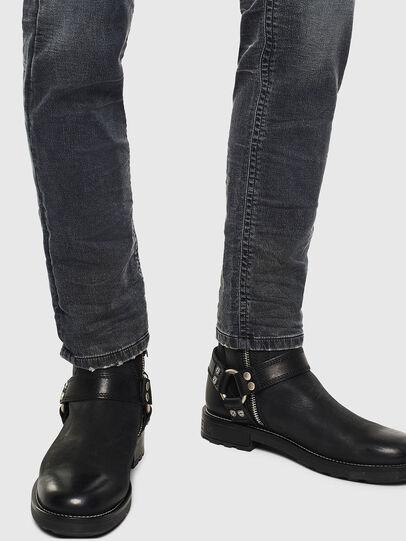Diesel - Thommer JoggJeans 069KK, Black/Dark grey - Jeans - Image 5
