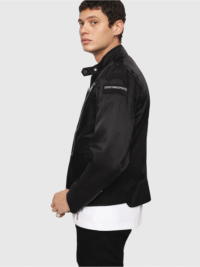 Diesel - J-CORELI, Black - Jackets - Image 3