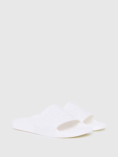 Diesel - SA-MAYEMI, White - Slippers - Image 2