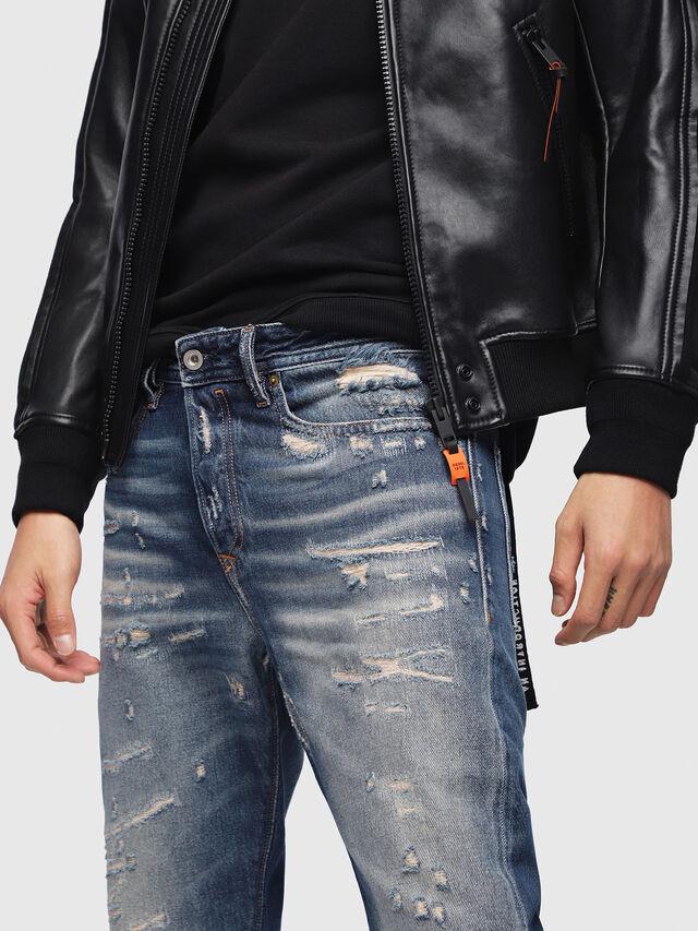 Diesel - Buster 088AQ, Dark Blue - Jeans - Image 3