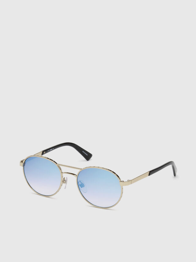 Diesel - DL0265, Gold - Sunglasses - Image 2