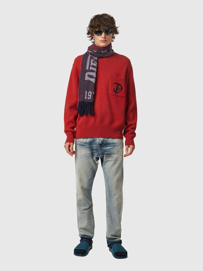 Diesel - K-BOSTON, Red - Knitwear - Image 4