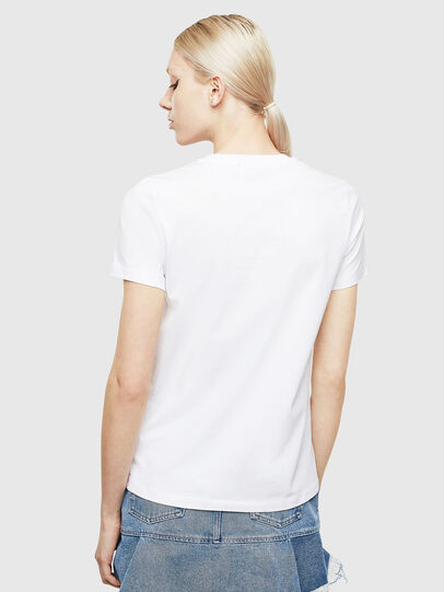 Diesel - T-SILY-WX, White/Grey - T-Shirts - Image 2