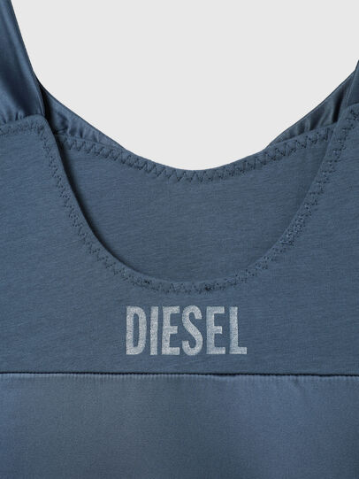 Diesel - UFPT-DILLY-SAT, Blue - Dressing Gowns - Image 4
