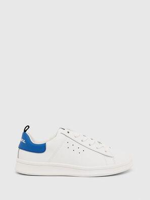 SN LOW LACE 11 FULL, White/Blue - Footwear