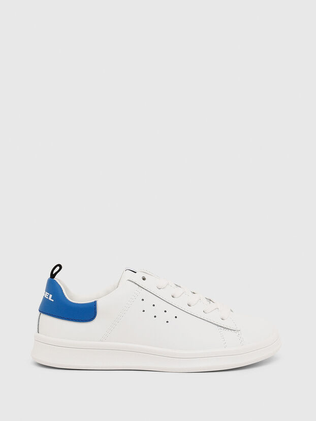 SN LOW LACE 11 FULL, White/Blue - Footwear