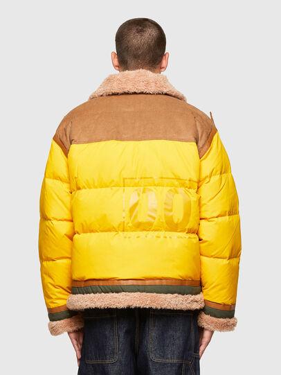 Diesel - W-EVAN-A, Yellow - Winter Jackets - Image 2