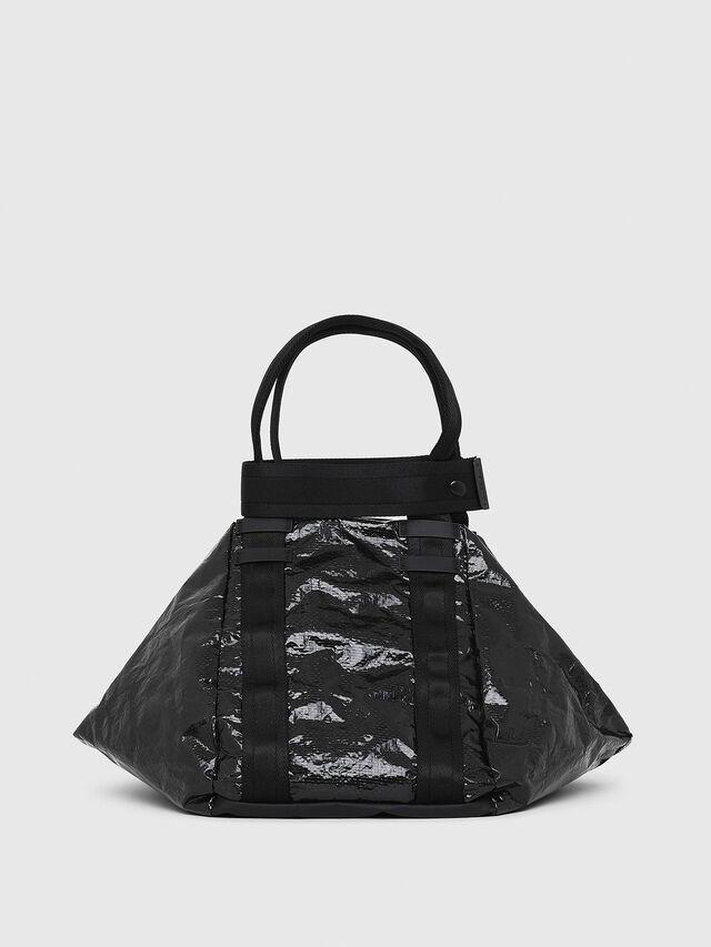 Diesel - D-CAGE SHOPPER, Black - Shopping and Shoulder Bags - Image 2