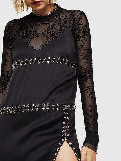 Diesel - D-NAKIA, Black - Dresses - Image 3